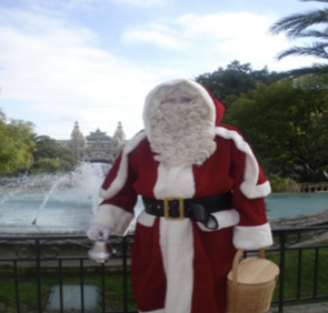Avalon Events Organisation Santa Clause