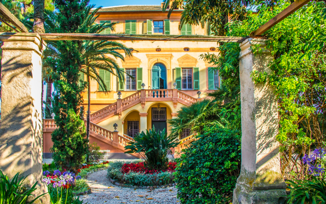 A RENAISSANCE VILLA IN THE ITALIAN RIVIERA