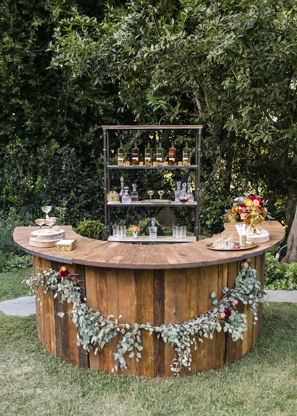 Garden Wedding Bar