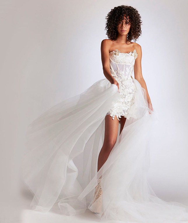 The Top Wedding Dress Trends of 2021 Transformative pieces