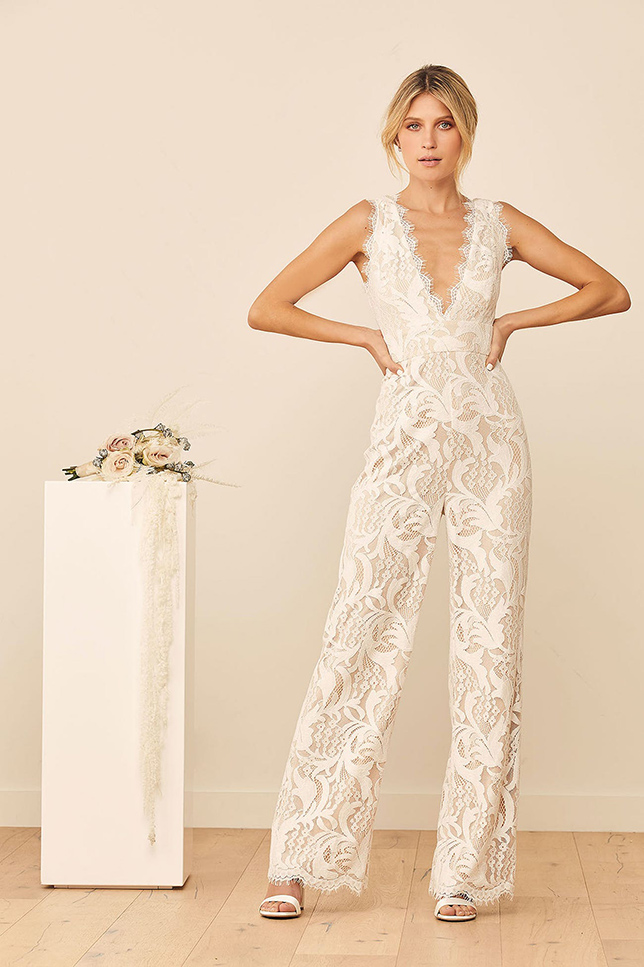 The Top Wedding Dress Trends of 2021 jumpsuit