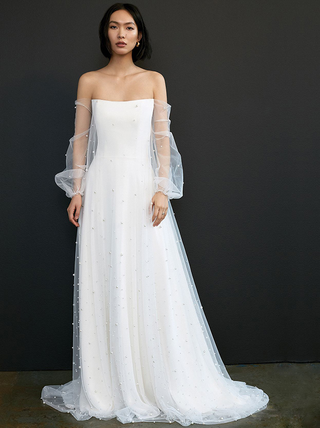 Top Wedding Dress Trends of 2021 Puffy sleeves
