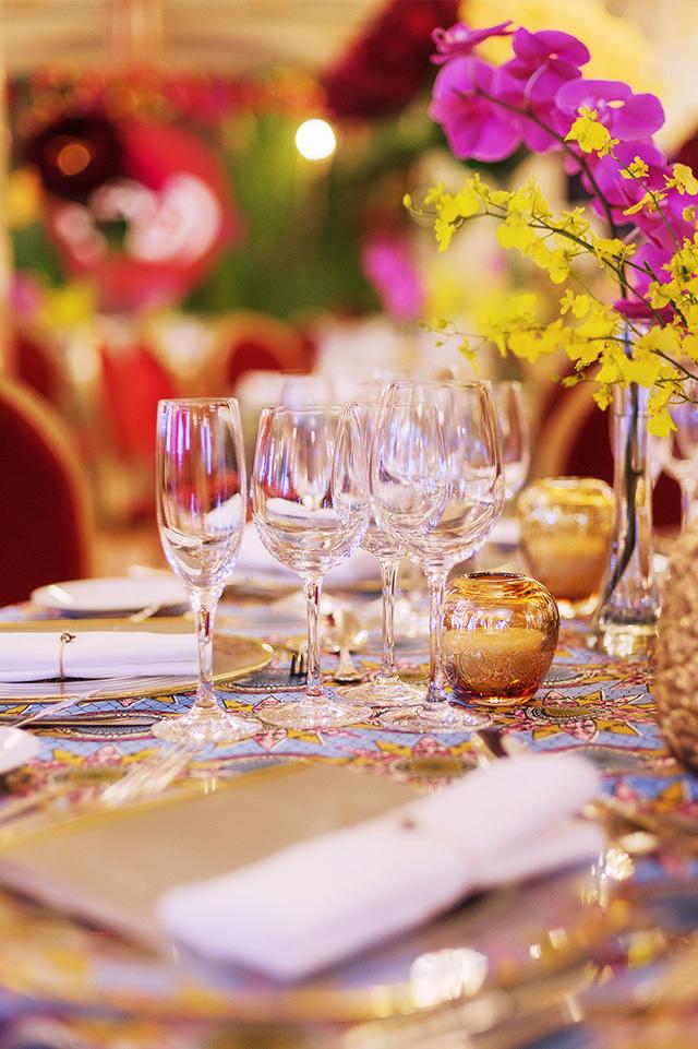 Golden event design