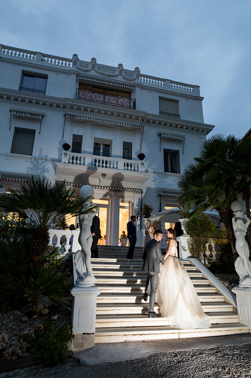 South of France wedding venues villa
