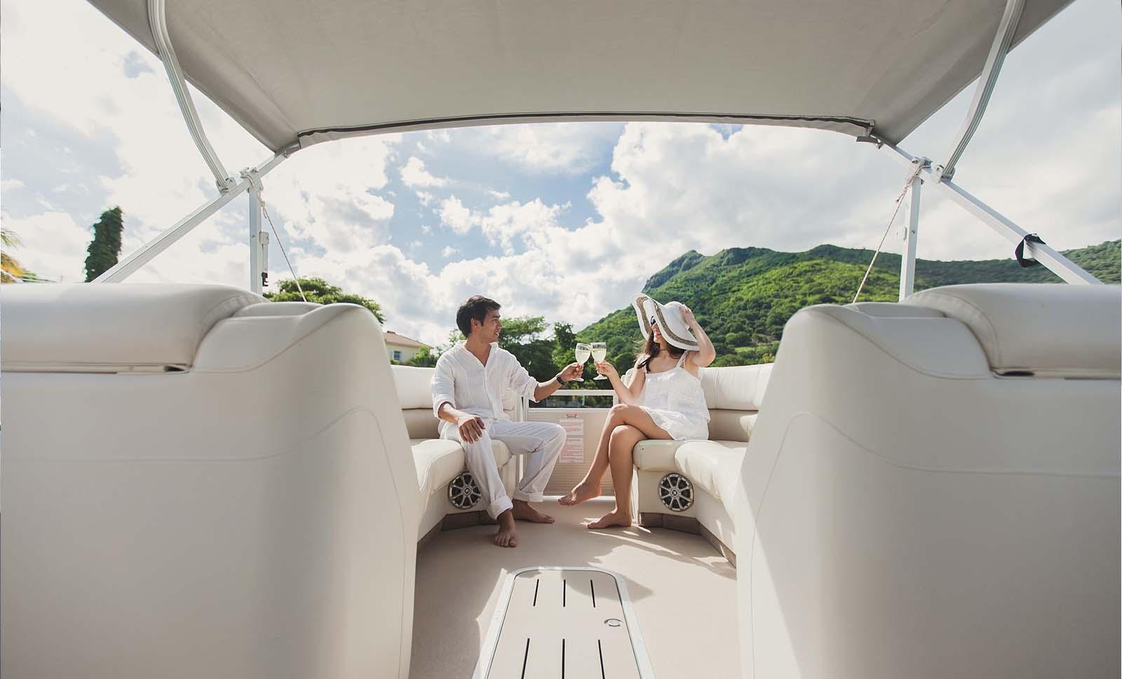 yacht proposal french riviera